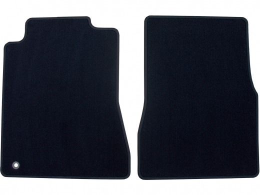 05-09 OEM Ford Mustang Floor Mats with serged edge, 2 pc. set