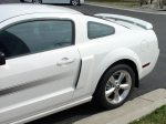 2008 Mustang C/S Left side, Jflaps (Stone guards)/JFM07-A4