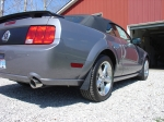 2005 Mustang GT Right side, Jflaps (Stone guards) JFM05-B4
