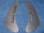 Dragon Scales Universal low profile Mud Flaps for Trucks