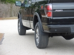 JFlaps F150 Stone Guards, easily removes or installs in seconds.