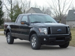 Jaeger Brothers F-150 Stone Guards. Crafted to be effective protection, yet discrete in appearance, installed on a 2011 FX4.