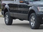 2005-2011 F-150 Jaeger Brothers  Stone Guards. Discrete effective stone protection, (not Mud Flaps).