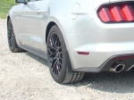 JFlaps 2015 Mustang Splash Guards also known as Stone Guards, easily removes or installs in seconds.