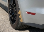 xWing mud flap - Gold Aramid Fiber Graphic